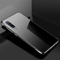 Coque Ultra Fine TPU Souple Housse Etui Transparente H08 pour Xiaomi Mi 9 Lite Noir