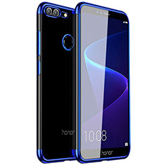 Coque Ultra Fine TPU Souple Housse Etui Transparente H16 pour Huawei Honor 9 Lite Bleu