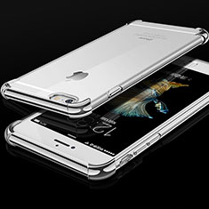 Coque Ultra Fine TPU Souple Housse Etui Transparente HC01 pour Apple iPhone 6 Argent