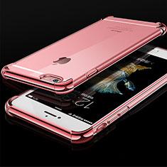 Coque Ultra Fine TPU Souple Housse Etui Transparente HC01 pour Apple iPhone 6 Or Rose