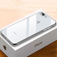 Coque Ultra Fine TPU Souple Housse Etui Transparente HC02 pour Apple iPhone 8 Plus Argent