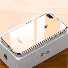 Coque Ultra Fine TPU Souple Housse Etui Transparente HC02 pour Apple iPhone 8 Plus Or