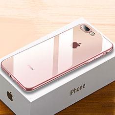 Coque Ultra Fine TPU Souple Housse Etui Transparente HC02 pour Apple iPhone 8 Plus Or Rose