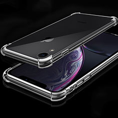 Coque Ultra Fine TPU Souple Housse Etui Transparente HC07 pour Apple iPhone XR Clair