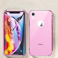 Coque Ultra Fine TPU Souple Housse Etui Transparente HC08 pour Apple iPhone XR Rose