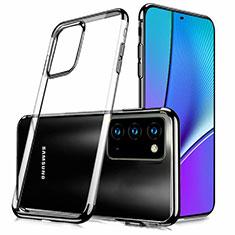 Coque Ultra Fine TPU Souple Housse Etui Transparente N02 pour Samsung Galaxy Note 20 5G Noir