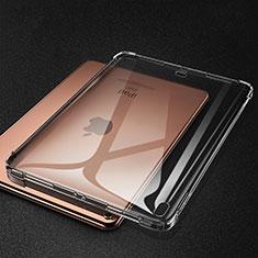 Coque Ultra Fine TPU Souple Housse Etui Transparente S01 pour Apple iPad Pro 11 (2018) Gris