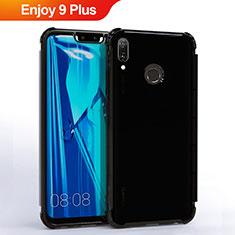 Coque Ultra Fine TPU Souple Housse Etui Transparente S01 pour Huawei Enjoy 9 Plus Noir