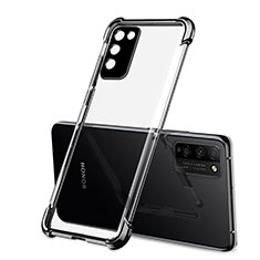 Coque Ultra Fine TPU Souple Housse Etui Transparente S01 pour Huawei Honor 30 Lite 5G Noir