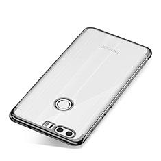 Coque Ultra Fine TPU Souple Housse Etui Transparente S01 pour Huawei Honor 8 Gris