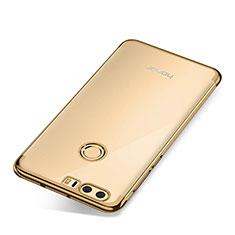 Coque Ultra Fine TPU Souple Housse Etui Transparente S01 pour Huawei Honor 8 Or