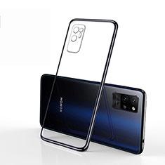 Coque Ultra Fine TPU Souple Housse Etui Transparente S01 pour Huawei Honor Play4 Pro 5G Noir