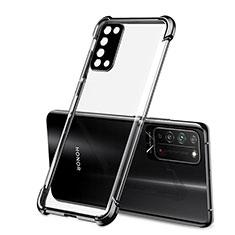 Coque Ultra Fine TPU Souple Housse Etui Transparente S01 pour Huawei Honor X10 5G Noir