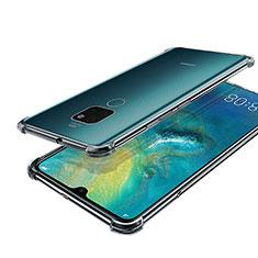 Coque Ultra Fine TPU Souple Housse Etui Transparente S01 pour Huawei Mate 20 Clair