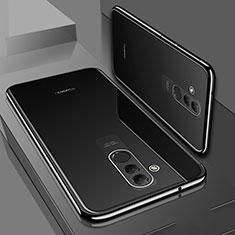 Coque Ultra Fine TPU Souple Housse Etui Transparente S01 pour Huawei Mate 20 Lite Noir