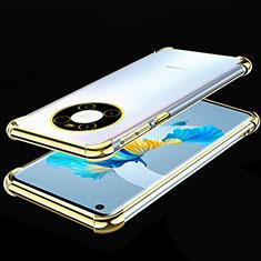 Coque Ultra Fine TPU Souple Housse Etui Transparente S01 pour Huawei Mate 40 Or
