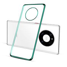 Coque Ultra Fine TPU Souple Housse Etui Transparente S01 pour Huawei Mate 40 Pro Vert