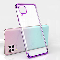 Coque Ultra Fine TPU Souple Housse Etui Transparente S01 pour Huawei Nova 6 SE Violet