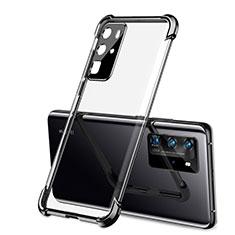 Coque Ultra Fine TPU Souple Housse Etui Transparente S01 pour Huawei P40 Pro Noir