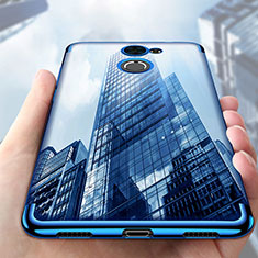 Coque Ultra Fine TPU Souple Housse Etui Transparente S01 pour Huawei Y7 Prime Clair
