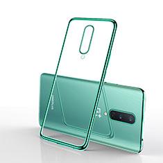 Coque Ultra Fine TPU Souple Housse Etui Transparente S01 pour OnePlus 8 Vert