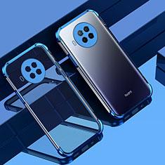 Coque Ultra Fine TPU Souple Housse Etui Transparente S01 pour Xiaomi Mi 10T Lite 5G Bleu