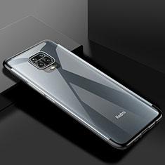 Coque Ultra Fine TPU Souple Housse Etui Transparente S01 pour Xiaomi Redmi Note 9 Pro Noir