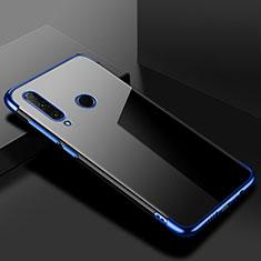 Coque Ultra Fine TPU Souple Housse Etui Transparente S02 pour Huawei Honor 20 Lite Bleu