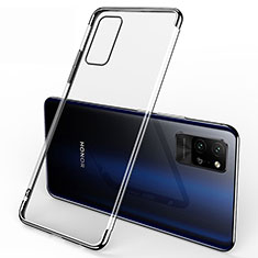 Coque Ultra Fine TPU Souple Housse Etui Transparente S02 pour Huawei Honor Play4 Pro 5G Noir