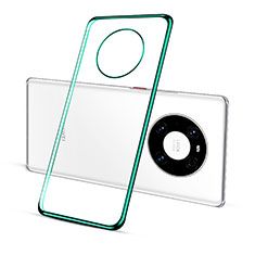 Coque Ultra Fine TPU Souple Housse Etui Transparente S02 pour Huawei Mate 40 Vert