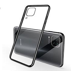 Coque Ultra Fine TPU Souple Housse Etui Transparente S02 pour Huawei Nova 6 SE Noir