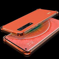 Coque Ultra Fine TPU Souple Housse Etui Transparente S02 pour Oppo Find X2 Pro Rouge