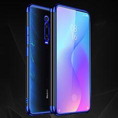 Coque Ultra Fine TPU Souple Housse Etui Transparente S02 pour Xiaomi Mi 9T Pro Bleu