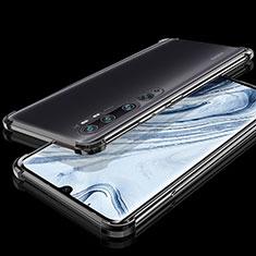 Coque Ultra Fine TPU Souple Housse Etui Transparente S02 pour Xiaomi Mi Note 10 Noir
