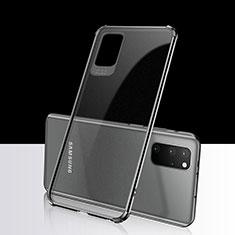 Coque Ultra Fine TPU Souple Housse Etui Transparente S03 pour Samsung Galaxy S20 Plus Noir