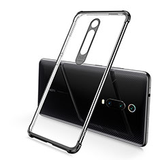 Coque Ultra Fine TPU Souple Housse Etui Transparente S03 pour Xiaomi Mi 9T Pro Noir