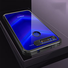 Coque Ultra Fine TPU Souple Housse Etui Transparente S04 pour Huawei Honor View 20 Noir