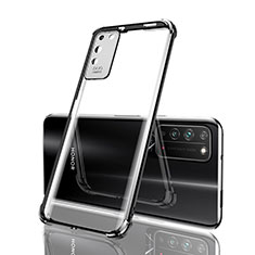 Coque Ultra Fine TPU Souple Housse Etui Transparente S04 pour Huawei Honor X10 5G Noir