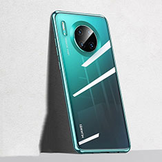 Coque Ultra Fine TPU Souple Housse Etui Transparente S04 pour Huawei Mate 30 Pro Vert