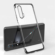 Coque Ultra Fine TPU Souple Housse Etui Transparente S04 pour Huawei Nova 6 5G Noir