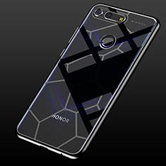 Coque Ultra Fine TPU Souple Housse Etui Transparente S05 pour Huawei Honor View 20 Noir