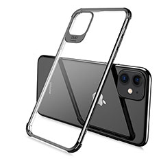 Coque Ultra Fine TPU Souple Housse Etui Transparente S06 pour Apple iPhone 11 Pro Noir