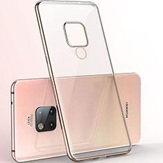 Coque Ultra Fine TPU Souple Housse Etui Transparente S06 pour Huawei Mate 20 X 5G Or