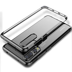 Coque Ultra Fine TPU Souple Housse Etui Transparente S06 pour Huawei P20 Pro Noir