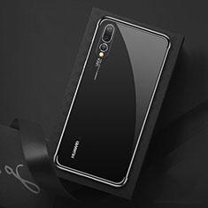 Coque Ultra Fine TPU Souple Housse Etui Transparente S07 pour Huawei P20 Pro Noir