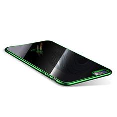 Coque Ultra Fine TPU Souple Housse Etui Transparente T08 pour Apple iPhone 6S Plus Vert