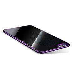 Coque Ultra Fine TPU Souple Housse Etui Transparente T08 pour Apple iPhone 6S Plus Violet