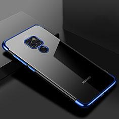 Coque Ultra Fine TPU Souple Housse Etui Transparente U01 pour Huawei Mate 20 Bleu