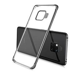 Coque Ultra Fine TPU Souple Housse Etui Transparente U02 pour Huawei Mate 20 Pro Noir