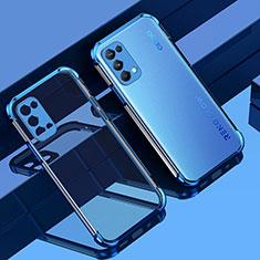 Coque Ultra Fine TPU Souple Housse Etui Transparente Z01 pour Oppo Reno5 5G Bleu